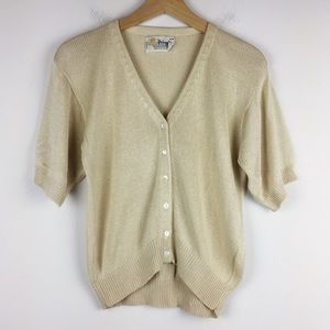 Vintage Pringle of Scotland pure silk cardigan